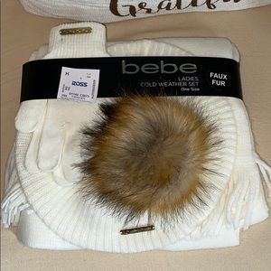 NWT bebe cold weather set